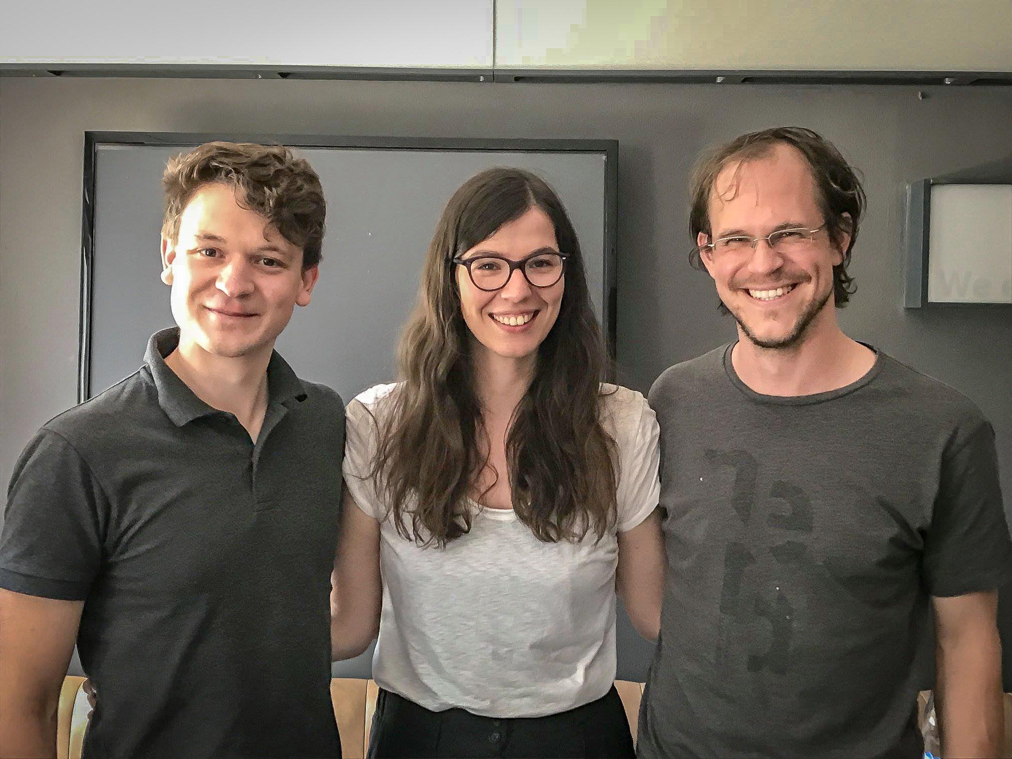 Vorstand der Kölner Jazzkonferenz e.V.: Janning Trumann, Theresia Philipp, Dr. Urs Benedikt Müller