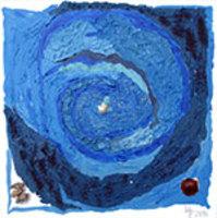 """Collage. Malerei. Zeichnung. Petra Hirsch """"Eine Dosis Leben"""""""