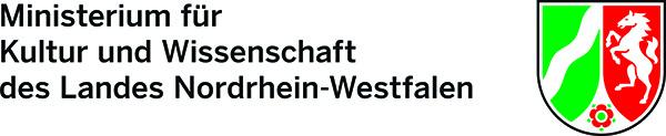 Mit freundlicher Unterstützung des Ministeriums für Kultur und Wissenschaft des Landes Nordrhein-Westfalen