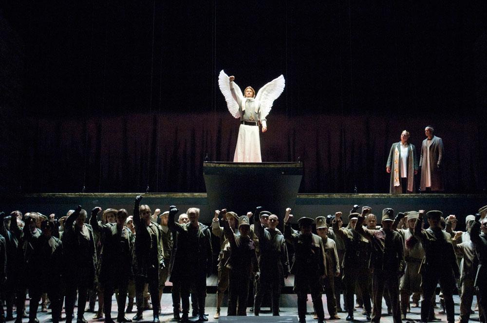 u. a. Klaus Florian Vogt als Lohengrin, Chor der Deutschen Oper Berlin