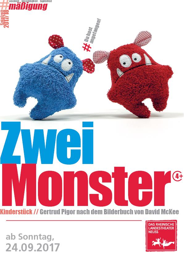 Rheinisches Landestheater Neuss - Zwei Monster - Schauspiel