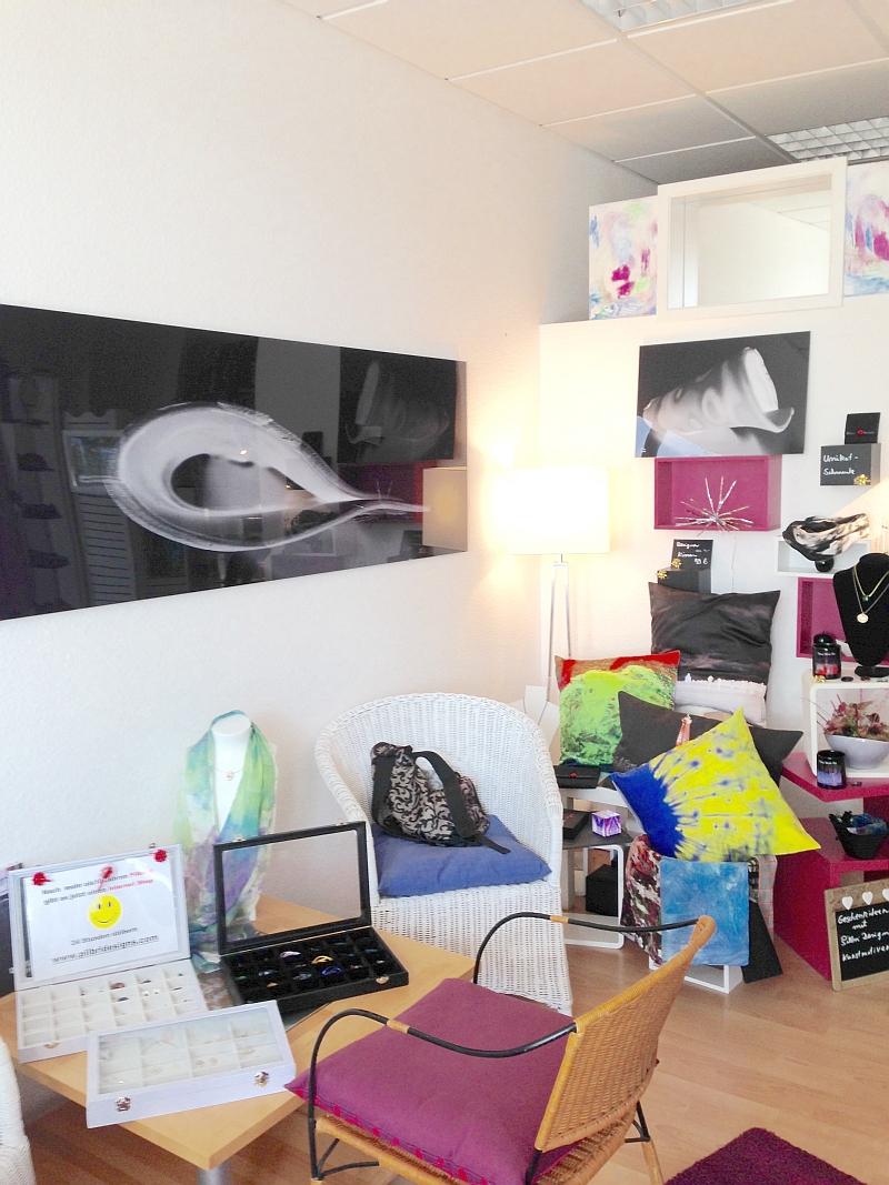 Ein Kleiner Laden in Hilden für Kunst und Design direkt aus Künstlerhand