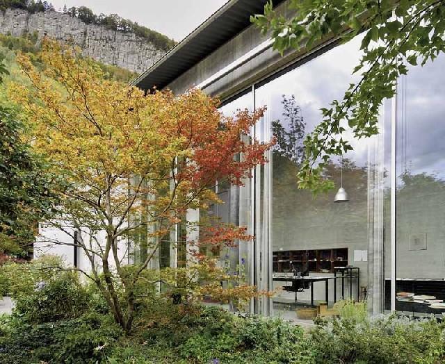 Zumthor house, haldenstein Haldenstein, Architektur