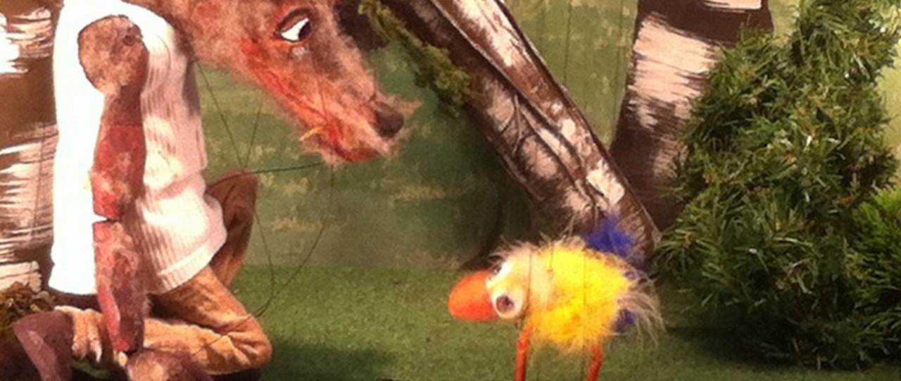 Der Wolf und das Küken | Marionetten- und Figurentheater Frantalu
