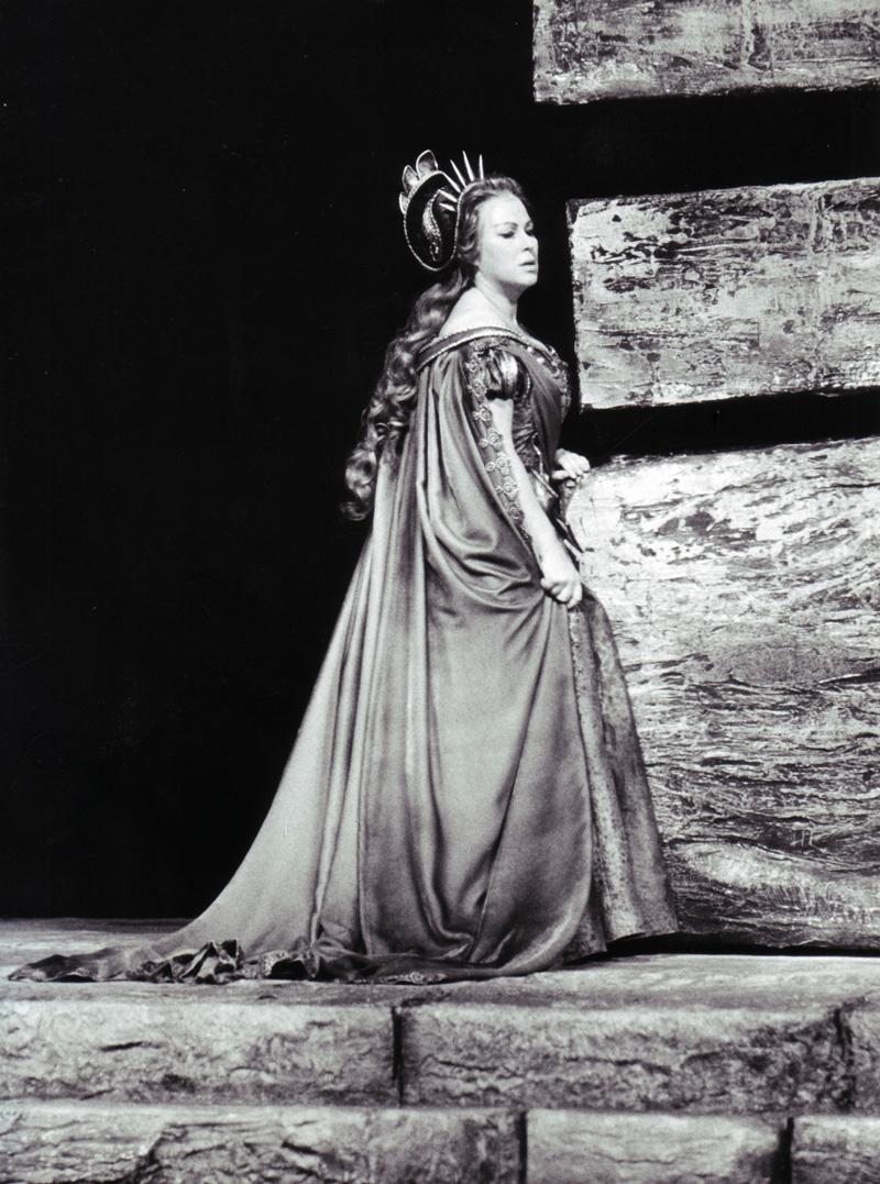 Gundula Janowitz als Odabella