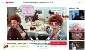 Click-App-Queereeoké in Hamburg, Party, 09.06.2018, Kampnagel Hamburg - Copyright Dancing Sven
