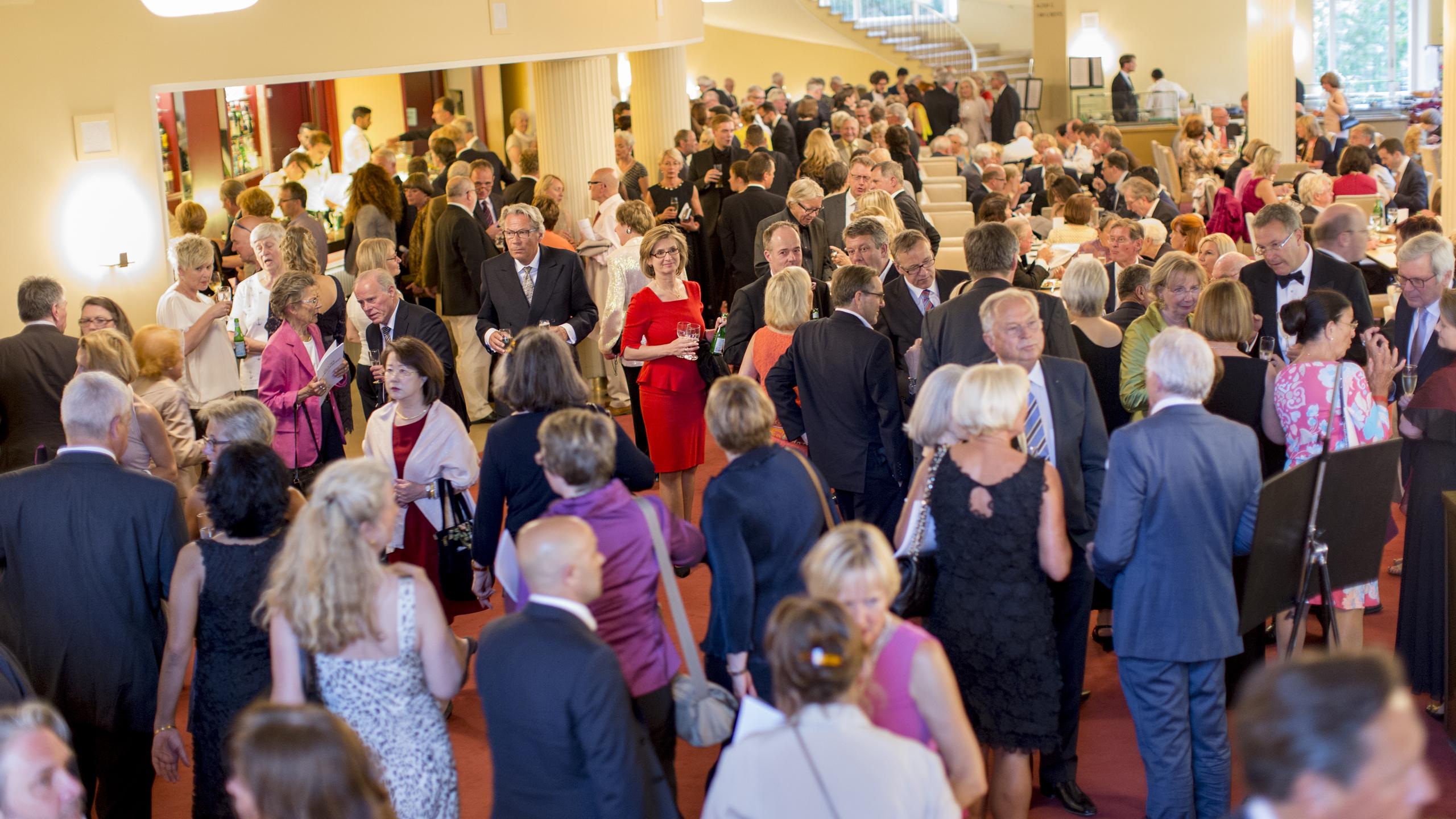 Das Foyer im Opernhaus Düsseldorf