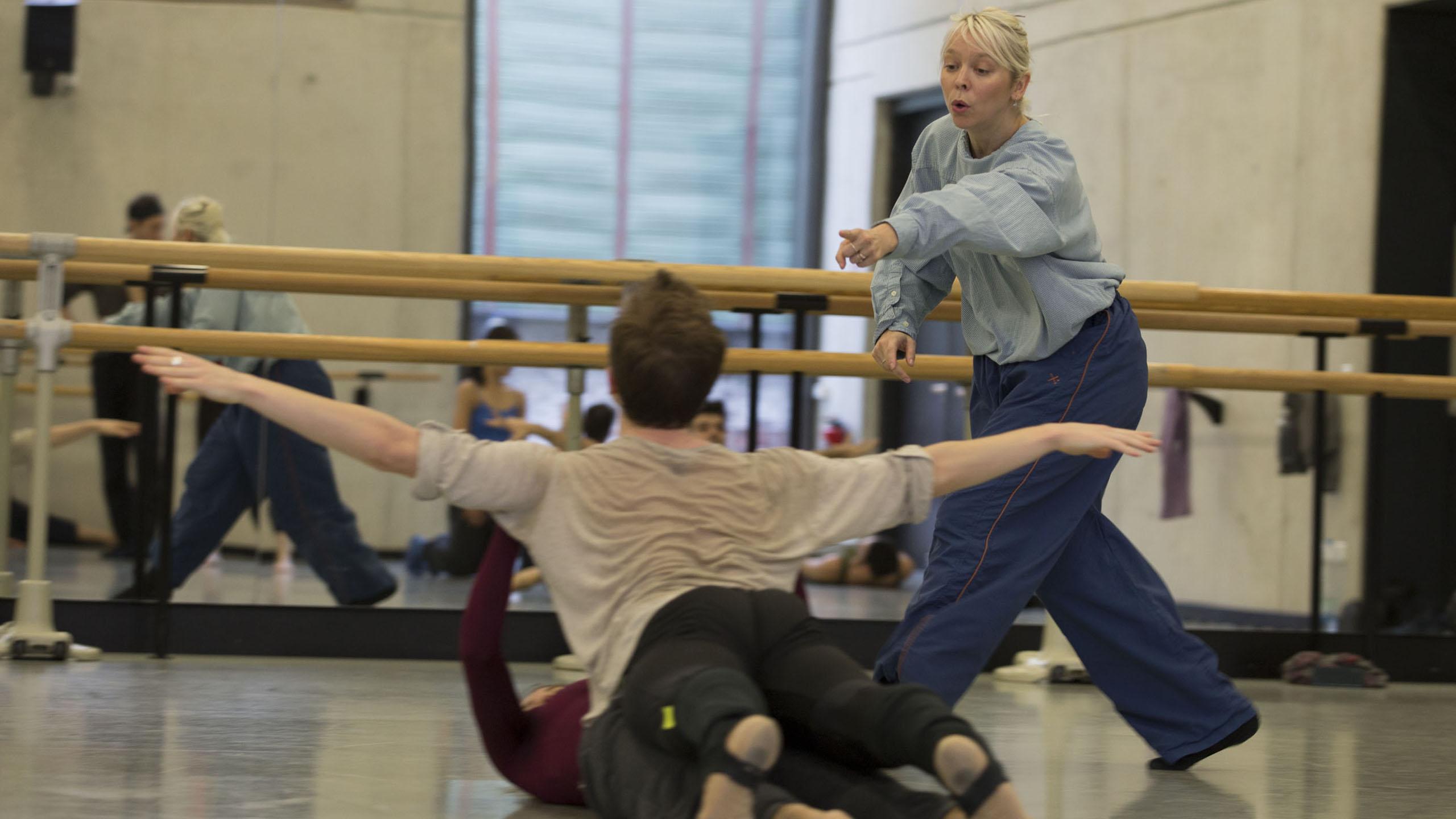 Im Ballettsaal: Natalia Horecna
